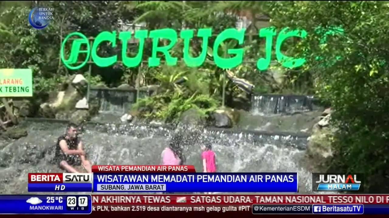 Wisata Air Panas Subang Jadi Pilihan Isi Libur Lebaran