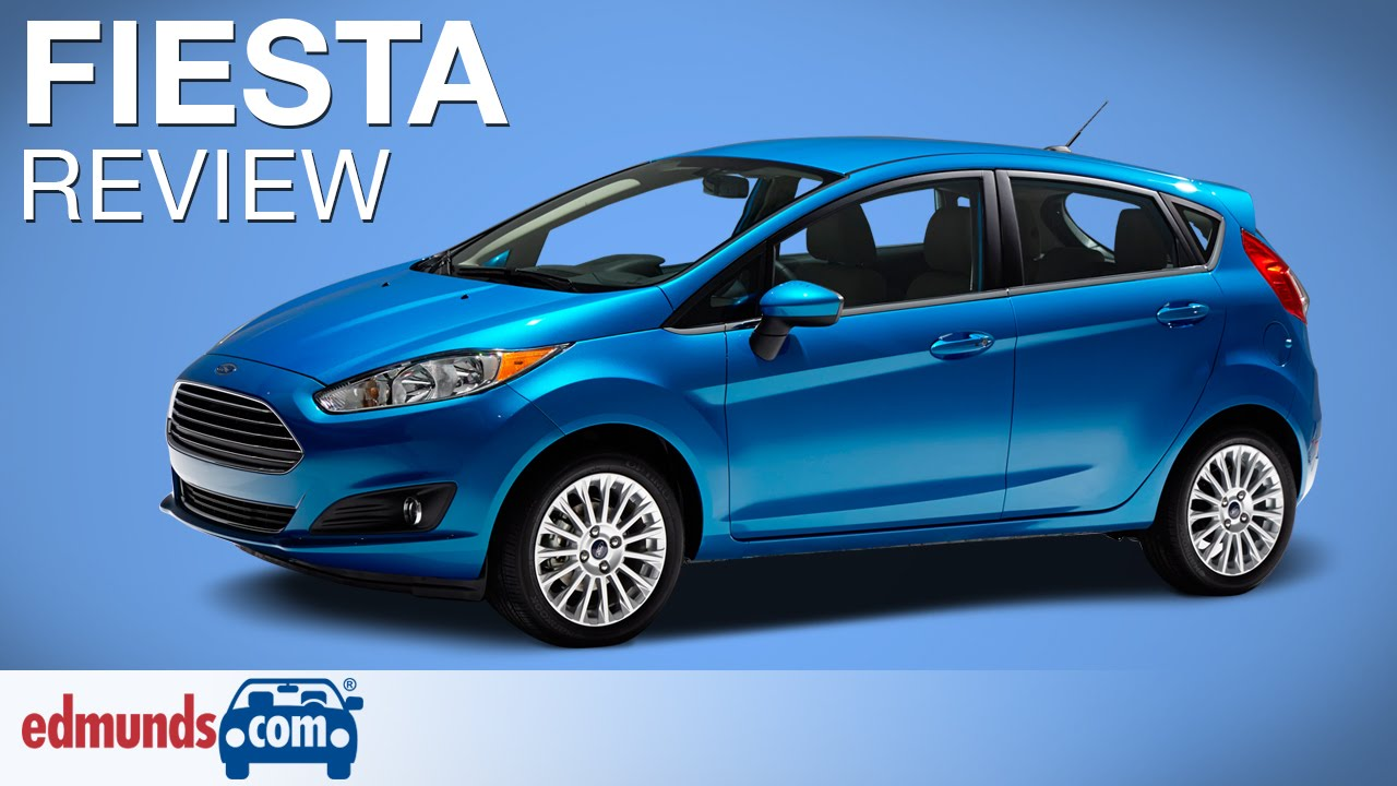 2015 ford fiesta review edmunds com youtube