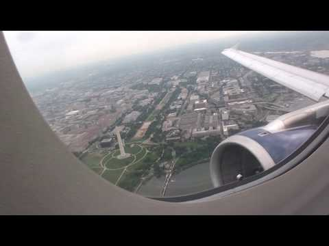 Awesome JetBlue HD Airbus A320 Takeoff From Washington Reagan Airport!!!