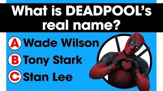 Only a true fan can complete this Marvel Universe quiz | 20 Fandom Questions | Comic books trivia