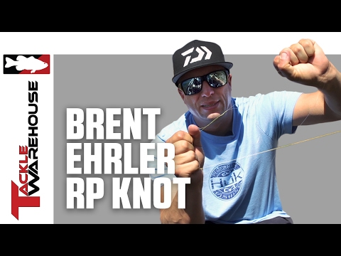 Brent Ehrler Pro's Pointer - Tying The RP Knot With Sunline FC Sniper Fluoro And TX1 Braided Line