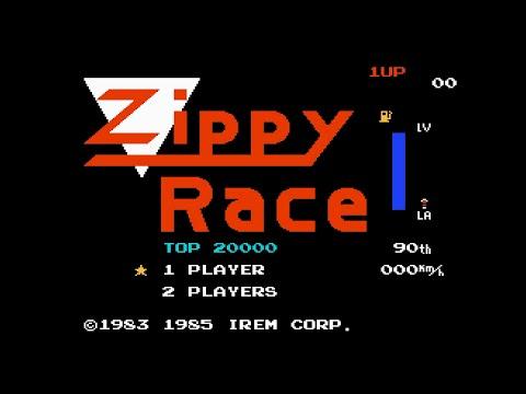 [NES] Zippy Race Longplay
