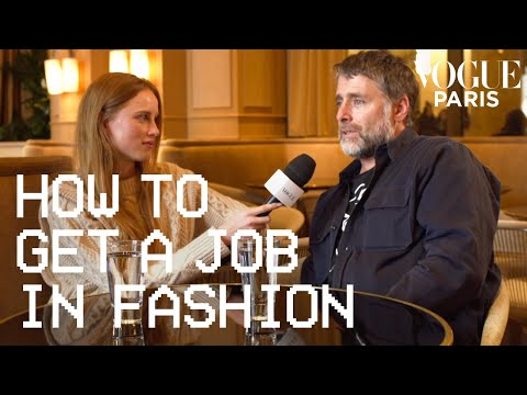 Rianne Van Rompaey asks David Sims how to become a fashion photographer | Vogue Paris
