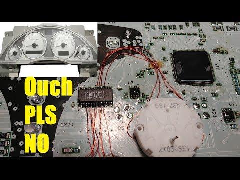 Buick Rendezvous Cluster Repair
