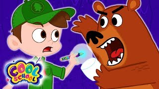 Scary Bear Steals Marshmallows! Cool Scout Summer Camp! | A Stupendous Drew Pendous Superhero Story