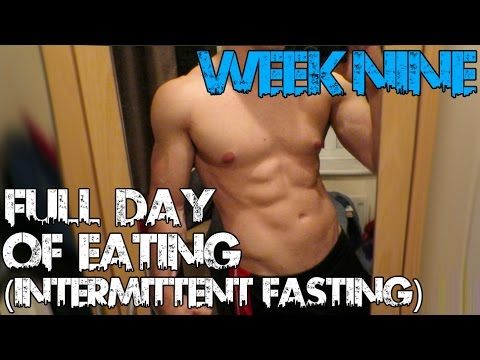 FULL DAY OF EATING - INTERMITTENT FASTING || The 12 Week Transformation diet - WEEK 9