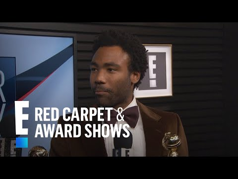 Thumbnail: Donald Glover Celebrates His 2017 Golden Globes Wins | E! Live from the Red Carpet