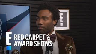 Donald Glover Celebrates His 2017 Golden Globes Wins | E! Live From The Red Carpet