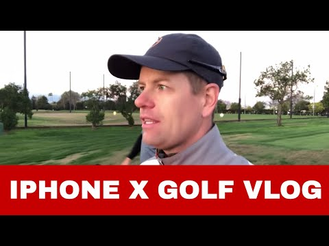 iPhone X Golf Vlog and Review with DJI Osmo Mobile 1 Be Better Golf