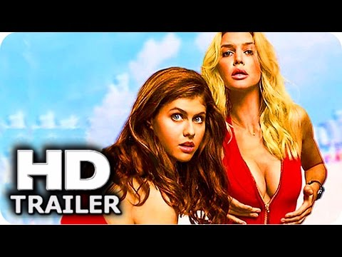 "BAYWATCH ""B00BS"" Trailer 2017 Alexandra Daddario, Dwayne Johnson"