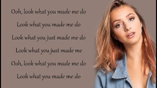 Taylor Swift - LOOK WHAT YOU MADE ME DO (Emma Heesters & Andie Case Cover) (Lyrics)