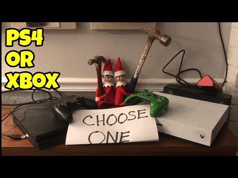 Elf On The Shelf Making Kids Choose Between Xbox One Or PS4 [ Original ]