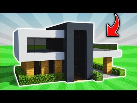Minecraft: INSANE EASY MODERN HOUSE TUTORIAL  (Ps3/Xbox360/PS4/XboxOne/PE/MCPE)