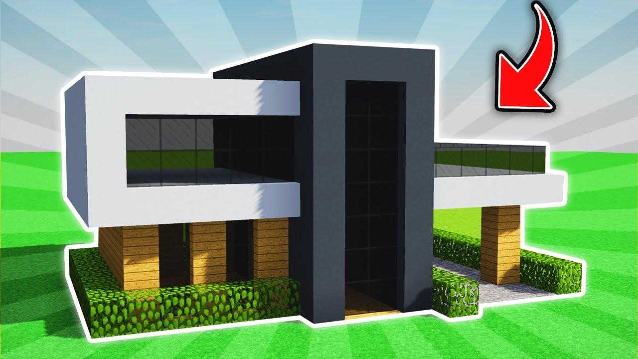 Minecraft Insane Easy Modern House Tutorial Ps3 Xbox360 Ps4 Xboxone Pe Mcpe Youtube