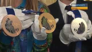 Olympia-Medaillen in Sotschi: In jeder Hinsicht kostbar