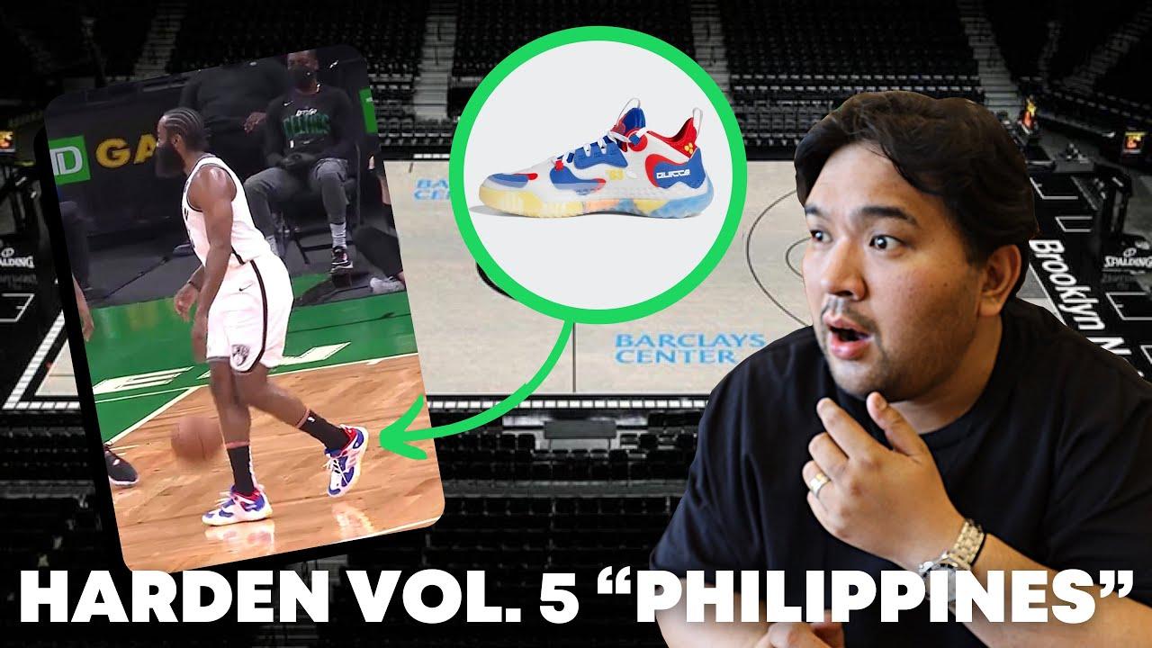 James Harden's 'Manila Heritage' shoe line pays homage to ...
