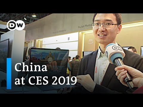 US-China Trade Tensions On Display At CES | DW News