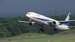 全日空 トリプルセブン 東京2020 離陸 ANA Triple Seven Tokyo 2020 take off