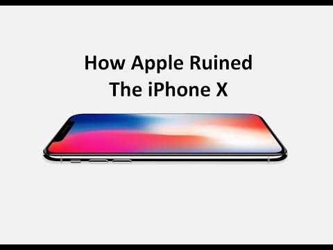Download Youtube: How Apple Ruined The iPhone X