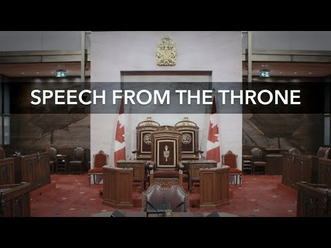 Speech from the Throne: Complete Coverage – September 23, 2020