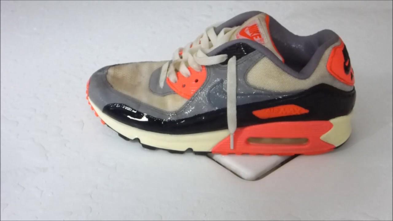 Nike Airmax Infrared piss / pee - YouTube
