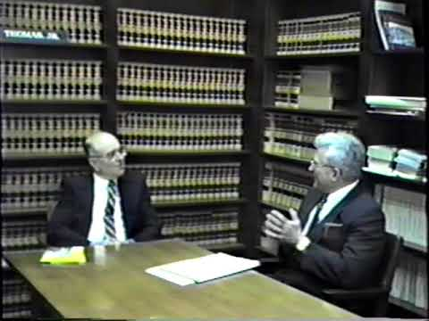 Oral History of Retired Superior Court Judge Richard W. Rhodes by Judge Mark Thomas (February 1990)