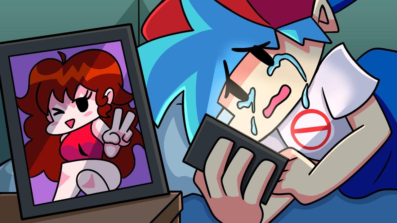 Download GIRLFRIEND BREAKS BOYFRIEND'S HEART?! Friday Night Funkin' Logic   Cartoon Animation