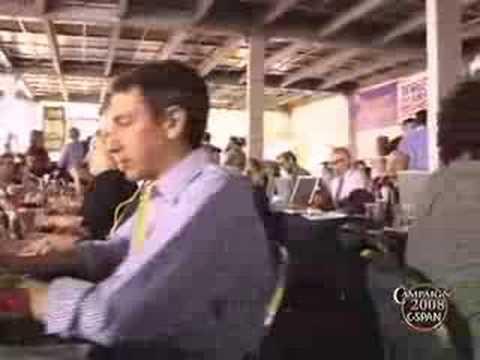 """""""Big Tent"""" - Bloggers' Headquarters at 2008 DNC Co..."""