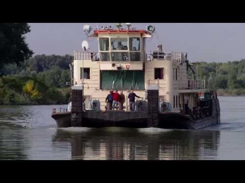 Towboat MAGURA in action , Danube river Bratislava , 2013.sep.25.
