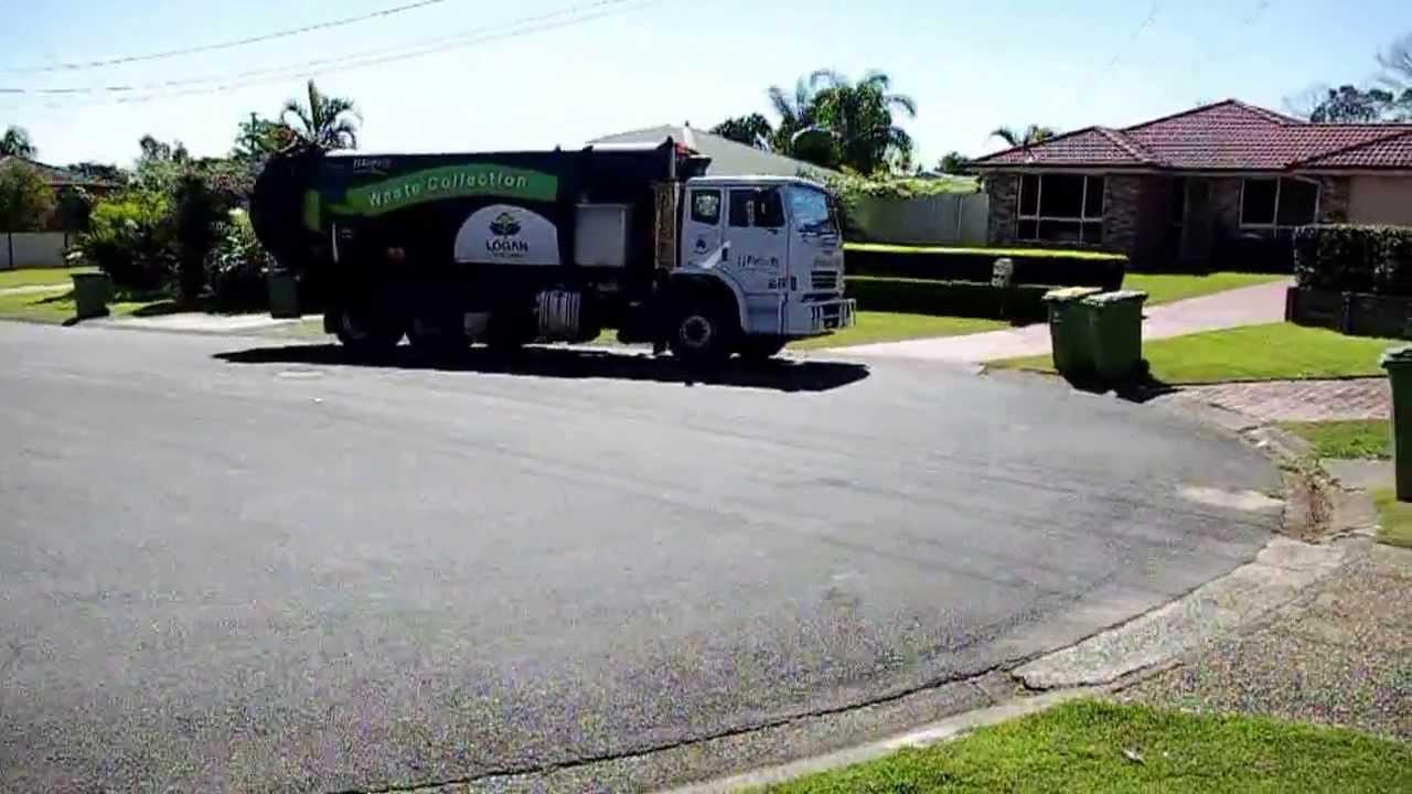Free Junk Removal >> J J Richards rubbish truck - YouTube