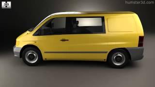 Mercedes-Benz Vito (W638) Kombi Van 1996 by 3D model store Humster3D.com
