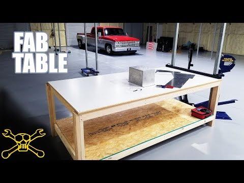 Sheet Metal Fab Table Build