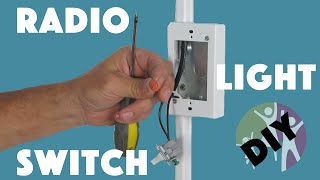 Adaptive Equipment for Autistic Children - Radio Light Switch