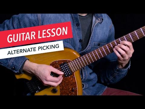 Learn How to Use Alternate Picking | Guitar | Lesson | Beginner | Berklee Online