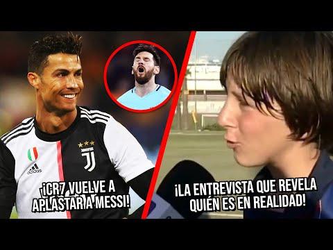 CR7 vuelve a aplastar a Messi | La entrevista de Leo a los 13 que revela quién es en realidad