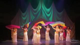 Луноликая - студия восточного танца Анчарэ (танец с веерами-вейлами)