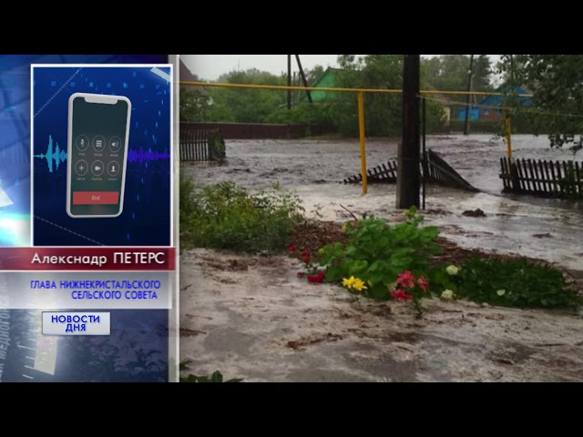 Потоп в Красногвардейском районе