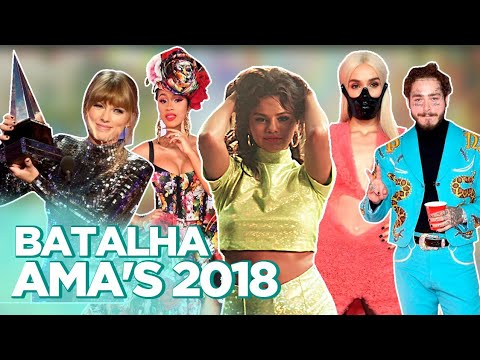 AMAs 2018: LOOKS, SHADE DE CARDI B, CLIPE TAKI TAKI, TAYLOR BATENDO RECORD... | Foquinha