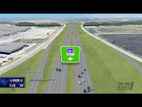 New tollway opens between Arlington and Mansfield