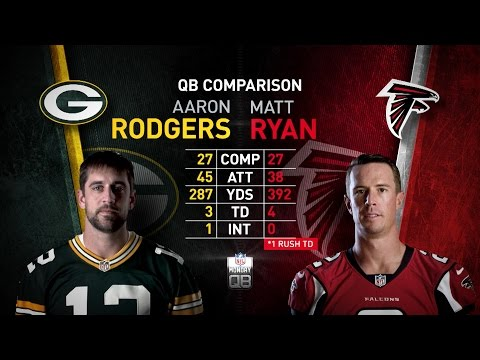 NFL Monday QB: Aaron Rodgers vs. Matt Ryan