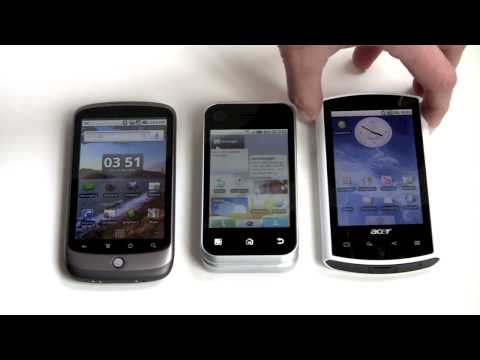 Motorola Backflip with MOTOBLUR Video Review