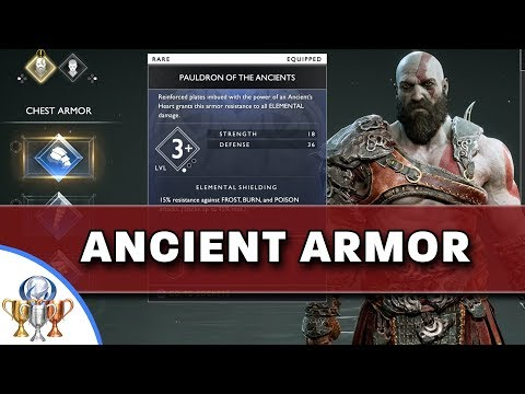 God of War - How to Obtain Ancient Armor Set - Primordial Trophy Guide