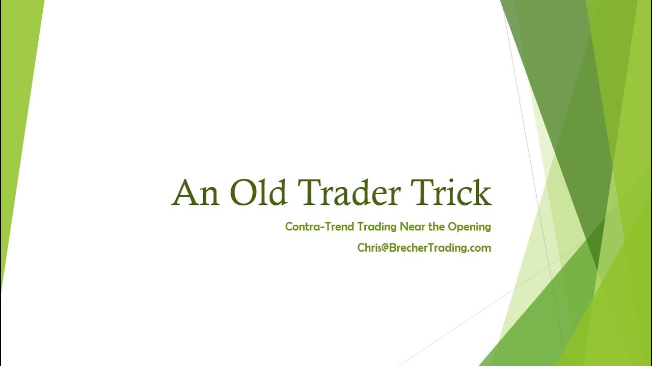 December 27th...An Old Trader Trick That Can Make Money Quickly ...