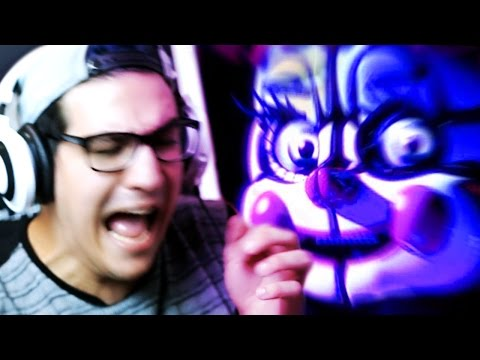 AS PRIMEIRAS NOITES! - FIVE NIGHTS AT FREDDY'S: SISTER LOCATION (NOITE 1 e 2)