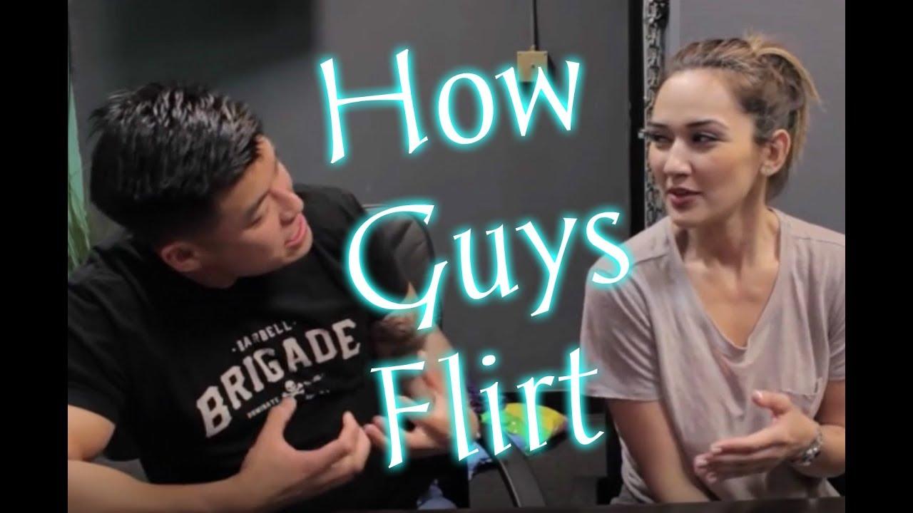 Flirten mit einem Milf Guy