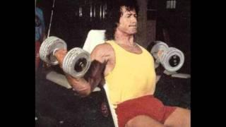 SLY STALLONE - Motivation training photos