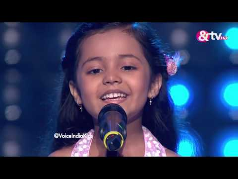 Thumbnail: Ayat Shaikh - Blind Audition - Episode 1 - July 23, 2016 - The Voice India Kids