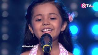 Ayat Shaikh - Blind Audition - Episode 1 - July 23, 2016 - The Voice India Kids thumbnail