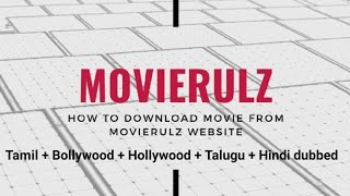 How to Download Best Hd Movies From Movierulz