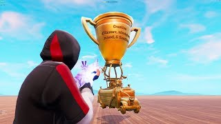 How To GET The WORLD CUP TROPHY To YOUR Island With This NEW Fortnite Glitch